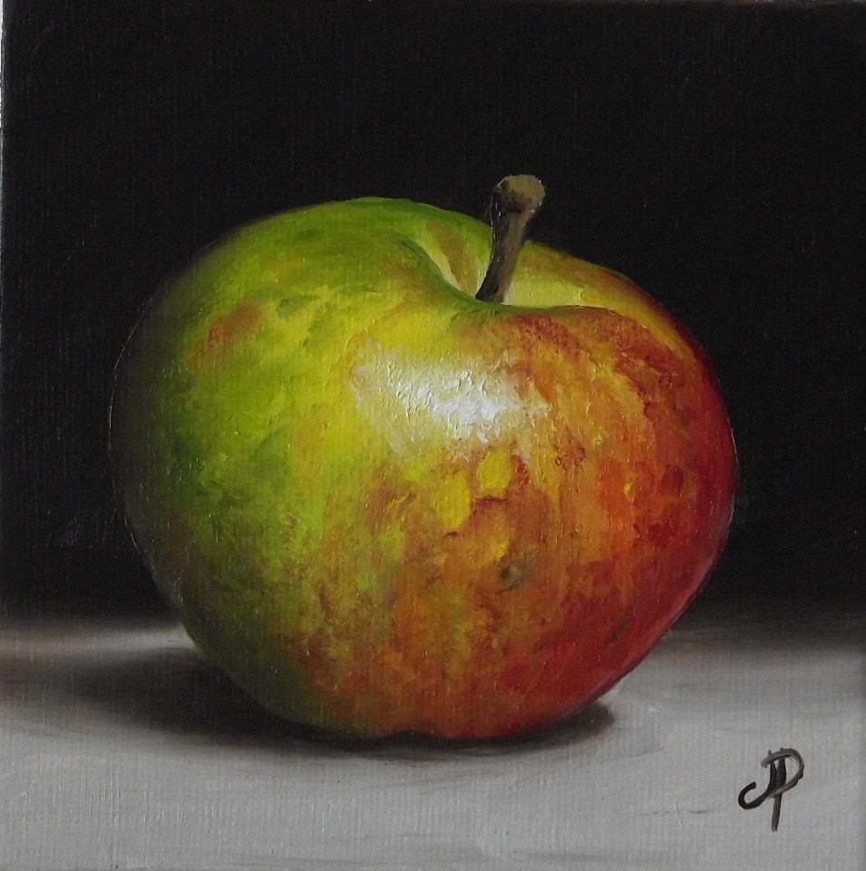 """Little Cox pippin"" original fine art by Jane Palmer"