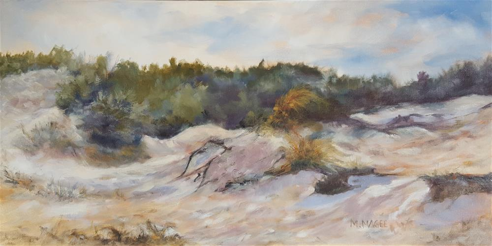 """Jekyll Island Dunes"" original fine art by Mary Magee"