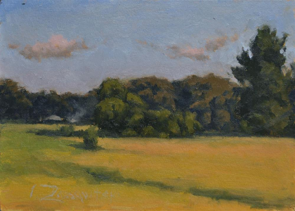 """Rural Fields"" original fine art by Ivan Zassavitski"