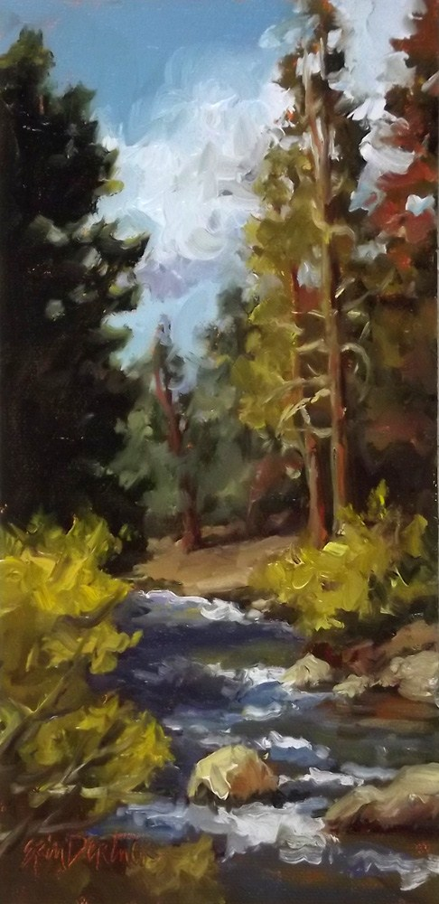 """""""Long Ago and Far Away"""" original fine art by Erin Dertner"""