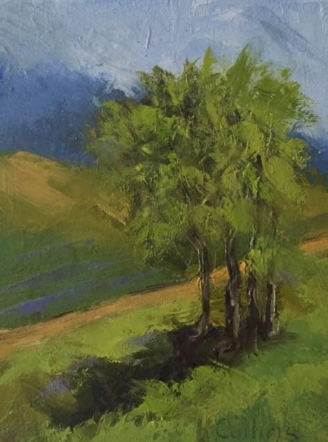 """A Hint of Lavender"" original fine art by Kathy Collins"