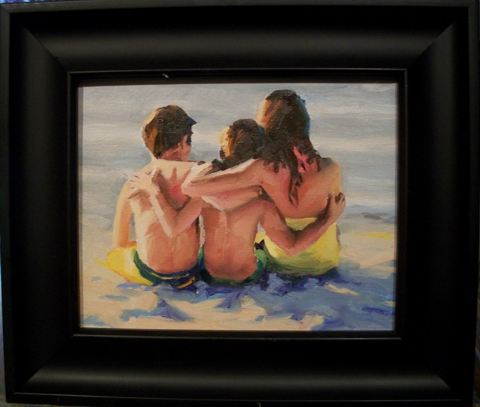 """ What a View "" original fine art by Doug Carter"