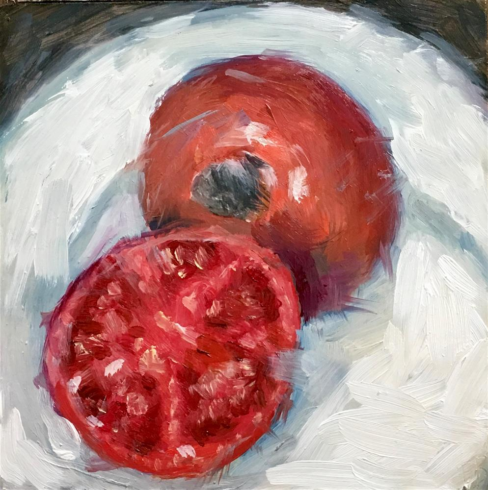 """108 Red Tomato"" original fine art by Fred Bell"