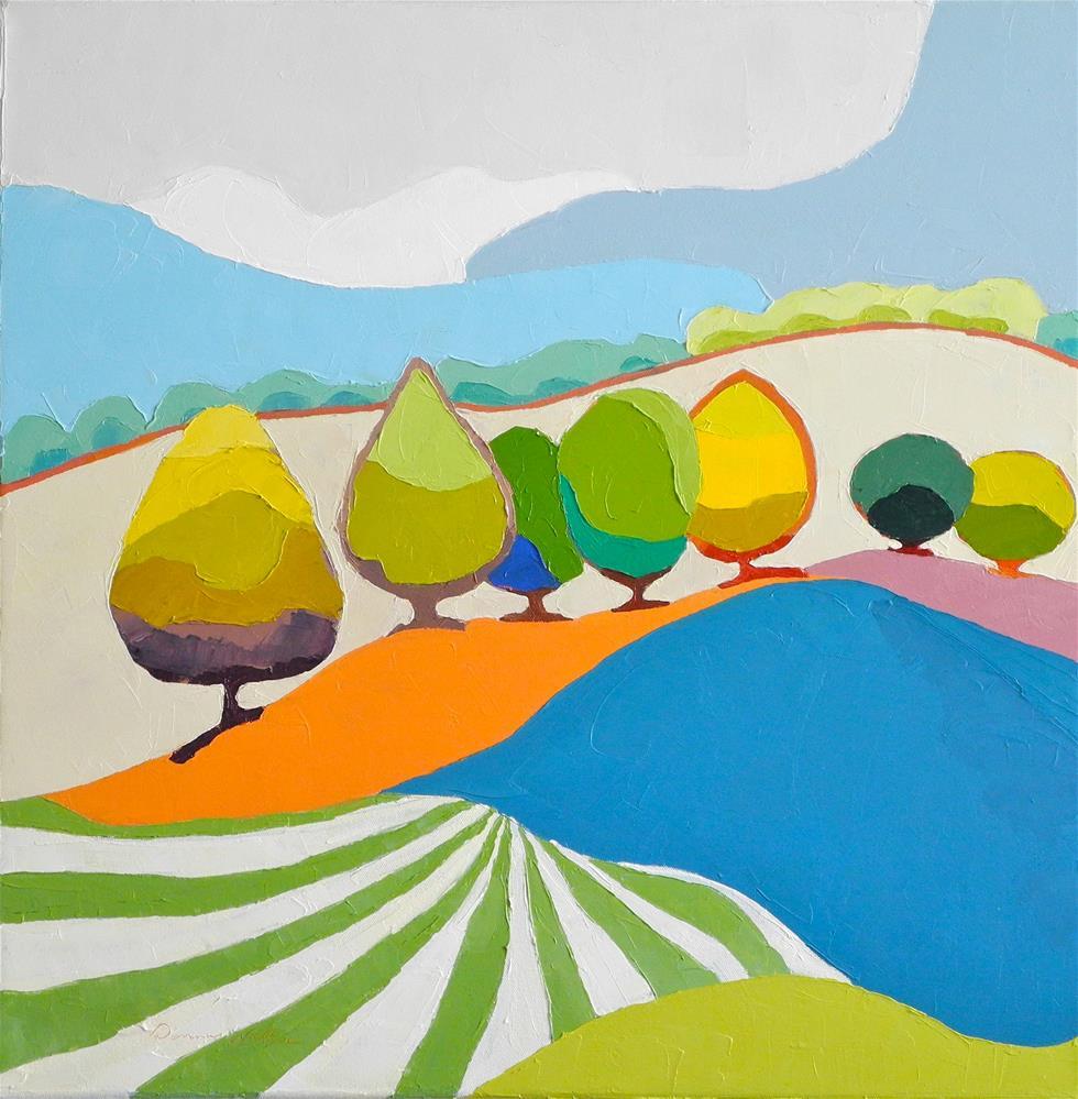 """""""Serendipity"""" original fine art by Donna Walker"""