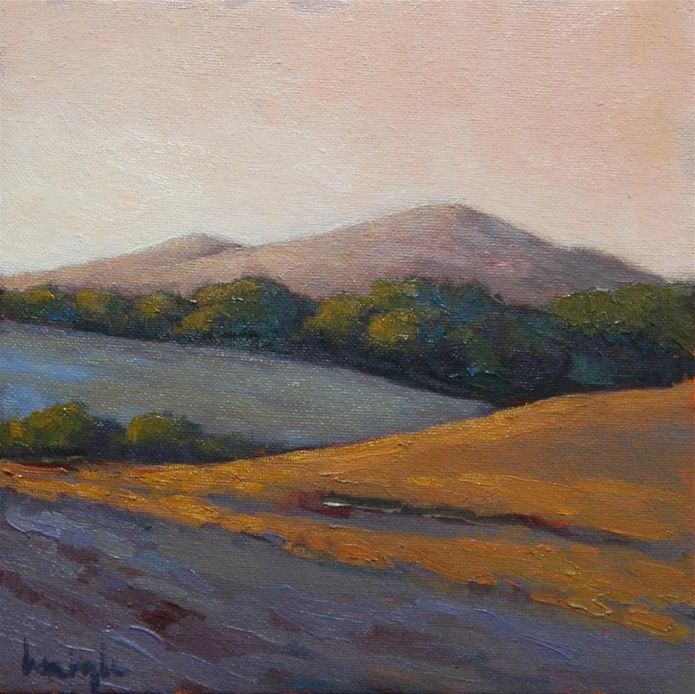 """""""Dusk in the Fields"""" original fine art by Lisa Kyle"""