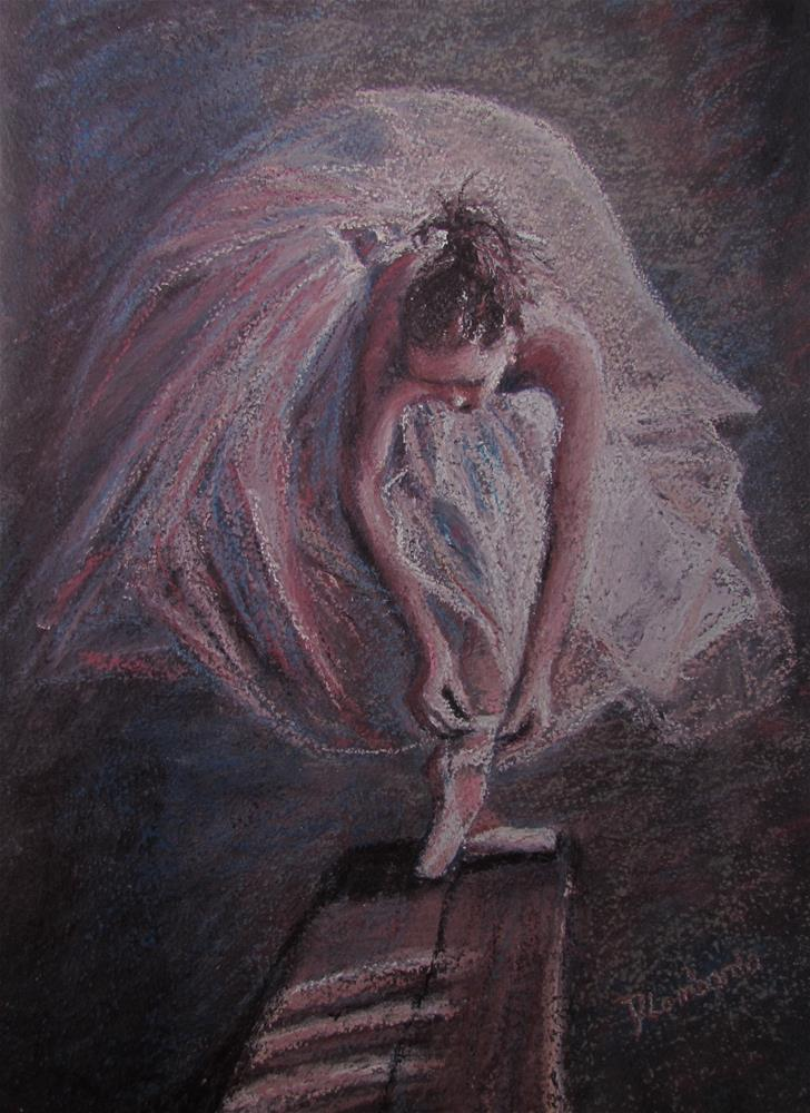 """Morning Ballet"" original fine art by Dana Lombardo"