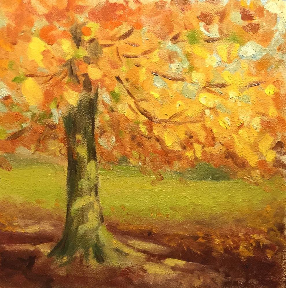 """""""Dappled Light  #1605"""" original fine art by Dee Lessard"""