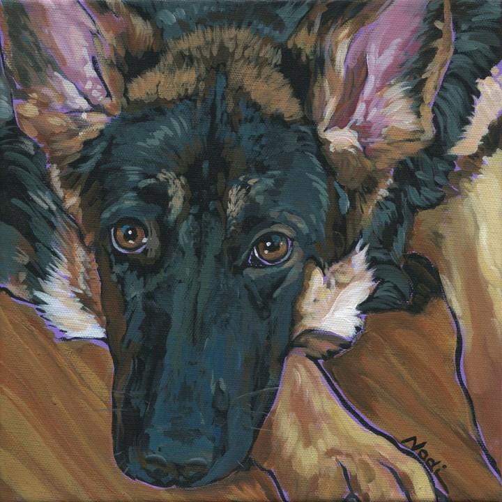 """Stella"" original fine art by Nadi Spencer"
