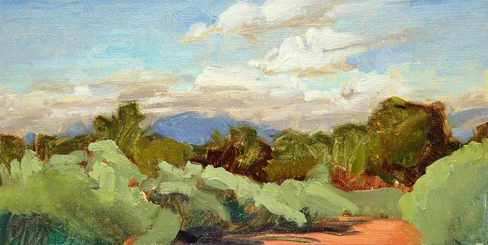 """9.1.2016 Old Santa Fe Trail"" original fine art by Miriam Hill"