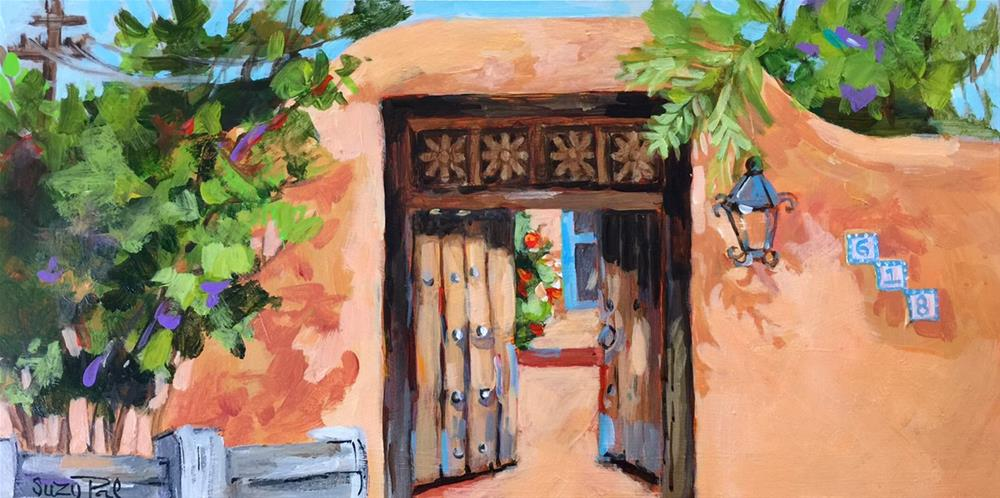 """Santa Fe #18"" original fine art by Suzy 'Pal' Powell"