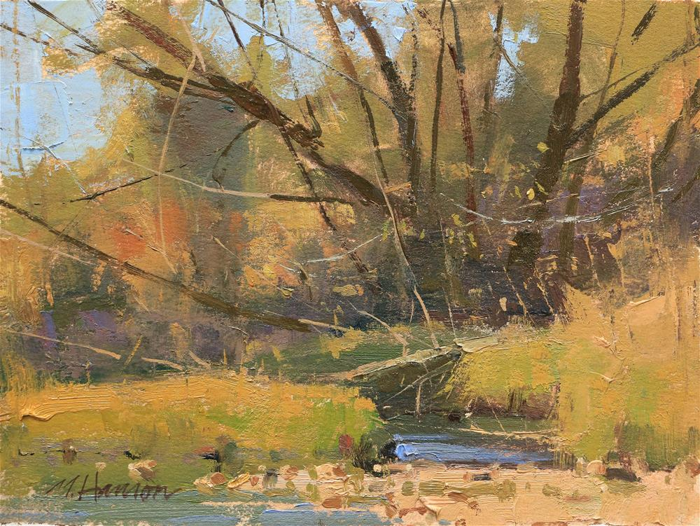 """Boulder Creek"" original fine art by Marc Hanson"
