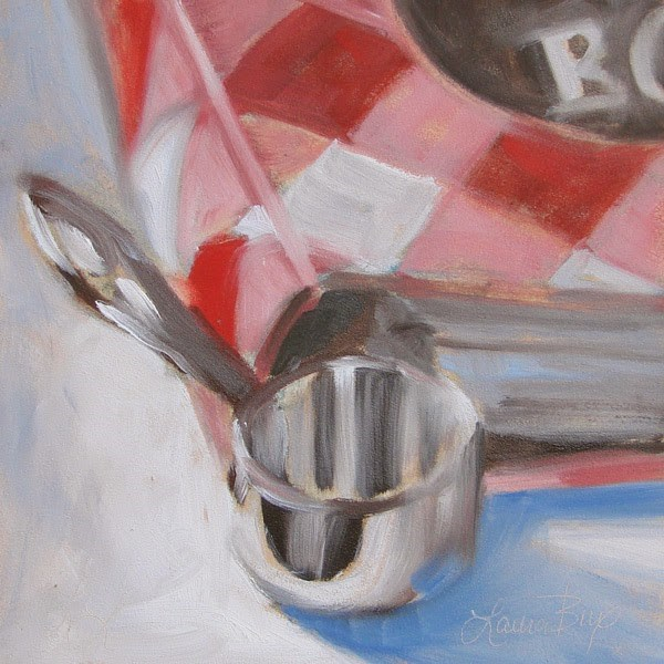 """Tools"" original fine art by Laura  Buxo"