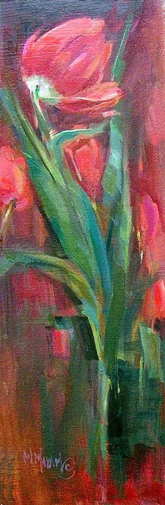 """A Single Tulip - Happy Easter!"" original fine art by Mary Maxam"