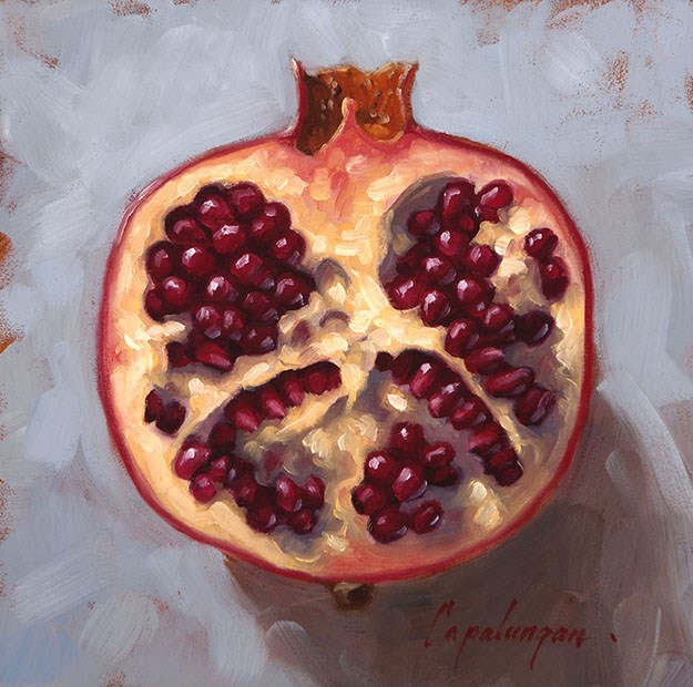 """Half"" original fine art by David Capalungan"