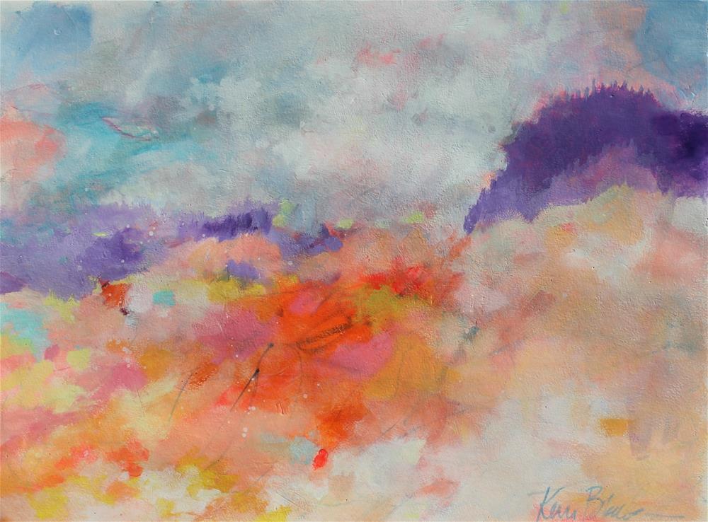 """Dreaming a Field "" original fine art by Kerri Blackman"
