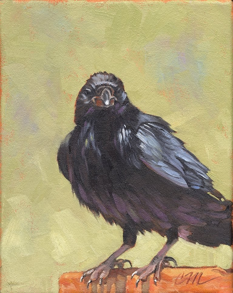 """""""Never said never, unclear on the concept"""" original fine art by Connie McLennan"""