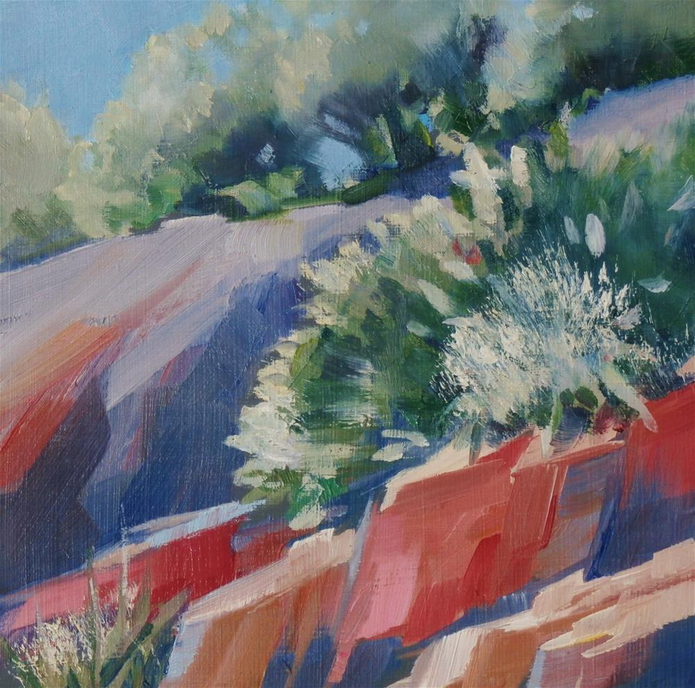 """Enchanted Rock #2"" original fine art by Carla Gauthier"