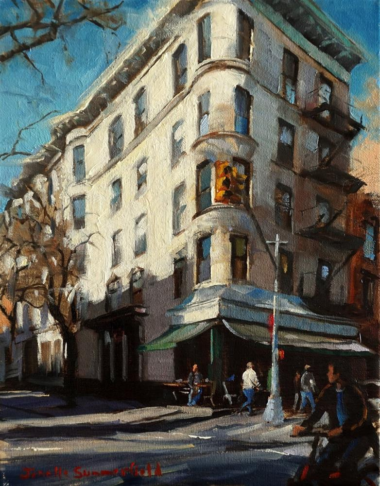 """Corner Bistro in the West Village"" original fine art by Jonelle Summerfield"