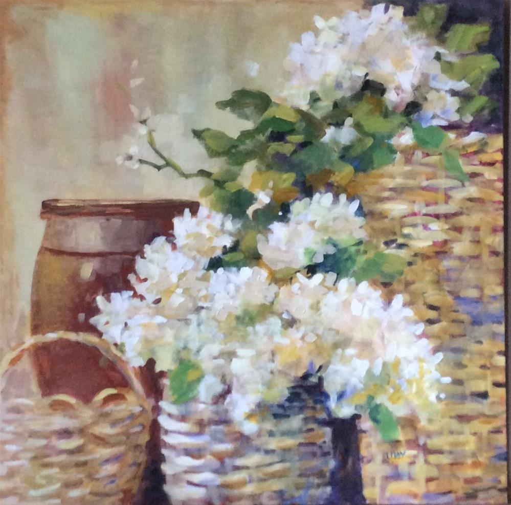 """Joel's Baskets"" original fine art by Libby Anderson"