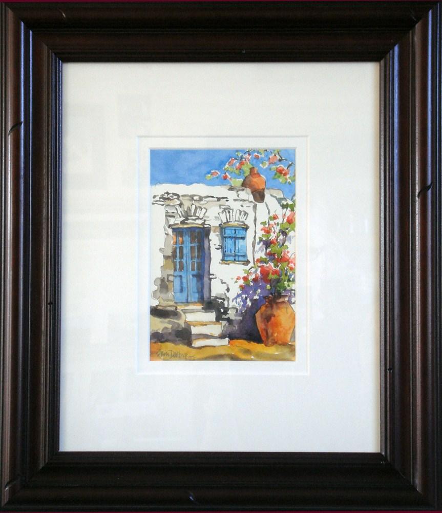 Greek Colors original fine art by Erin Dertner