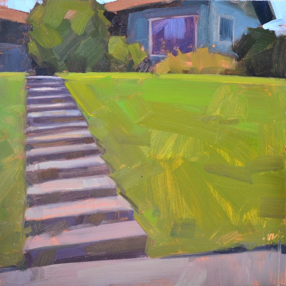 """Bob's House"" original fine art by Carol Marine"