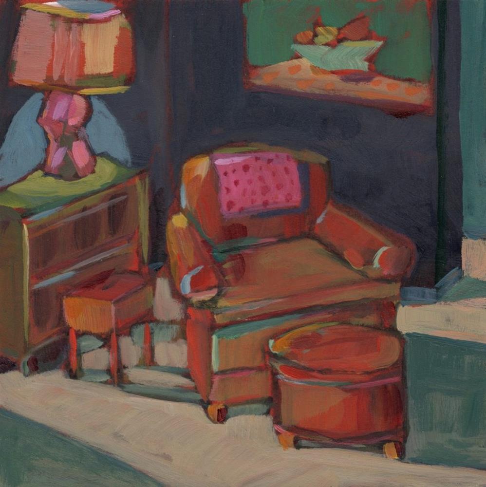 """Comfortable Place (#367)"" original fine art by Brian Miller"