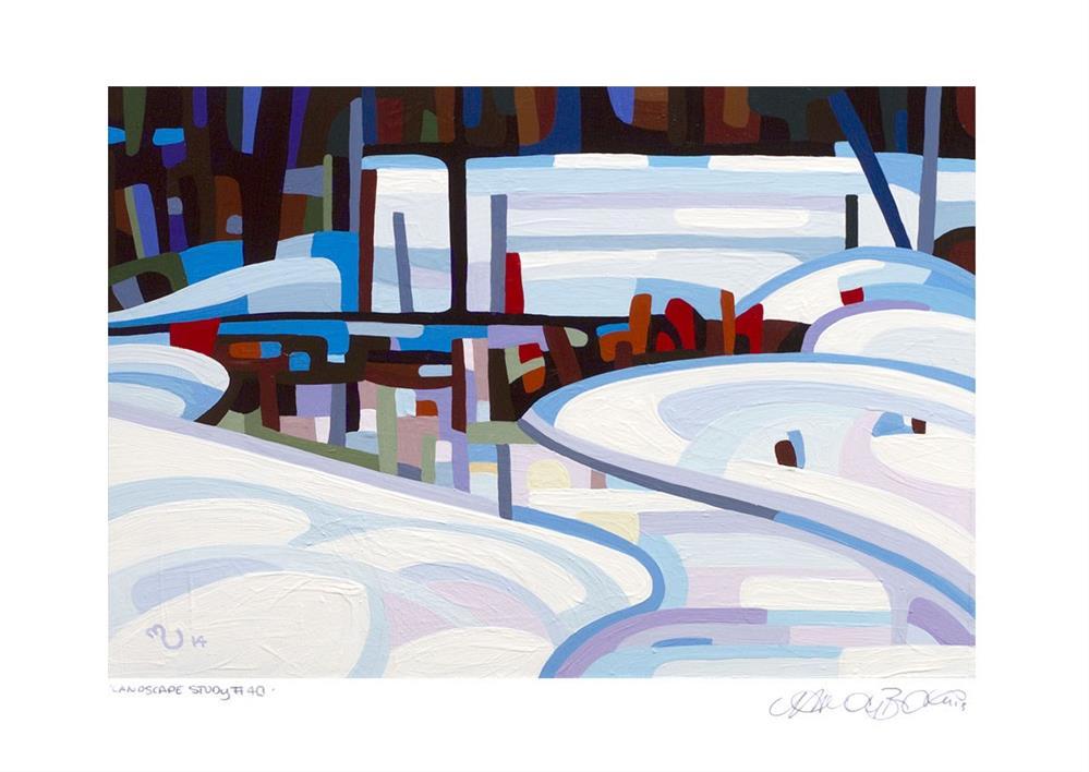 """Landscape Study #40"" original fine art by Mandy Budan"