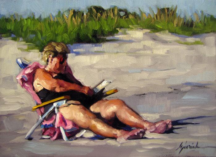 """Sunny Side Up"" original fine art by Karin Jurick"