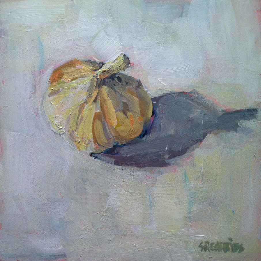"""garlic"" original fine art by Shelley Garries"