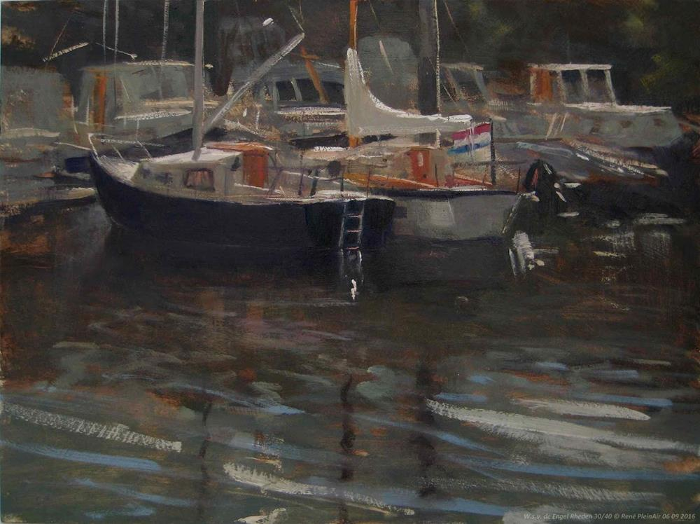 """W.s.v. de Engel Rheden, The Netherlands"" original fine art by René PleinAir"