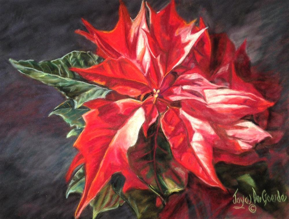 """Poinsettia by Joye DeGoede"" original fine art by Joye DeGoede"