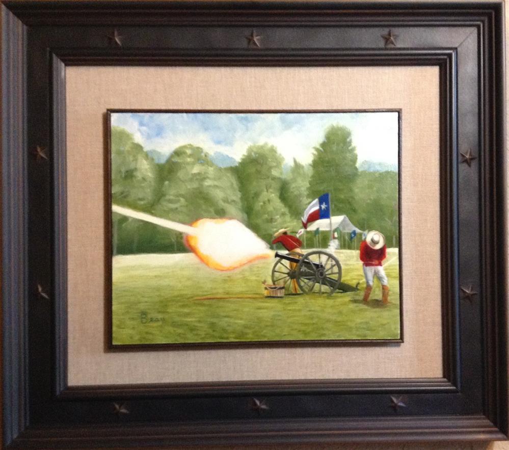 """Rolling Thunder"" original fine art by Beau Crump"