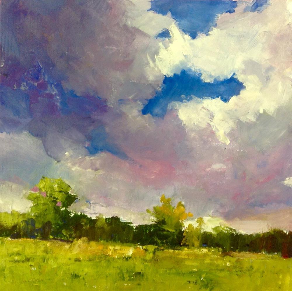 """""""Still Time To Golf"""" original fine art by Cathy Boyd"""