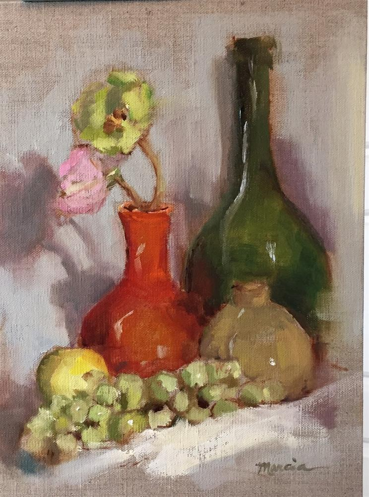 """Still Life Ii"" original fine art by Marcia Hodges"