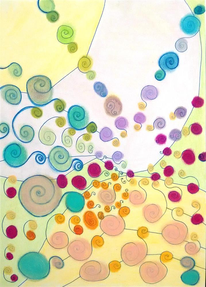 """""""Joining the Community"""" original fine art by Adéla Svobodová"""