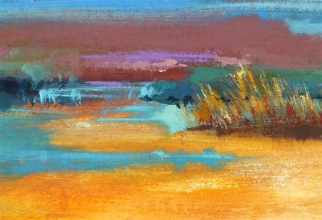"""Landscape 92"" original fine art by Ewa Kunicka"