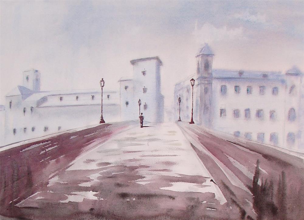 """""""Rome"""" original fine art by Vito Cagnazzo"""