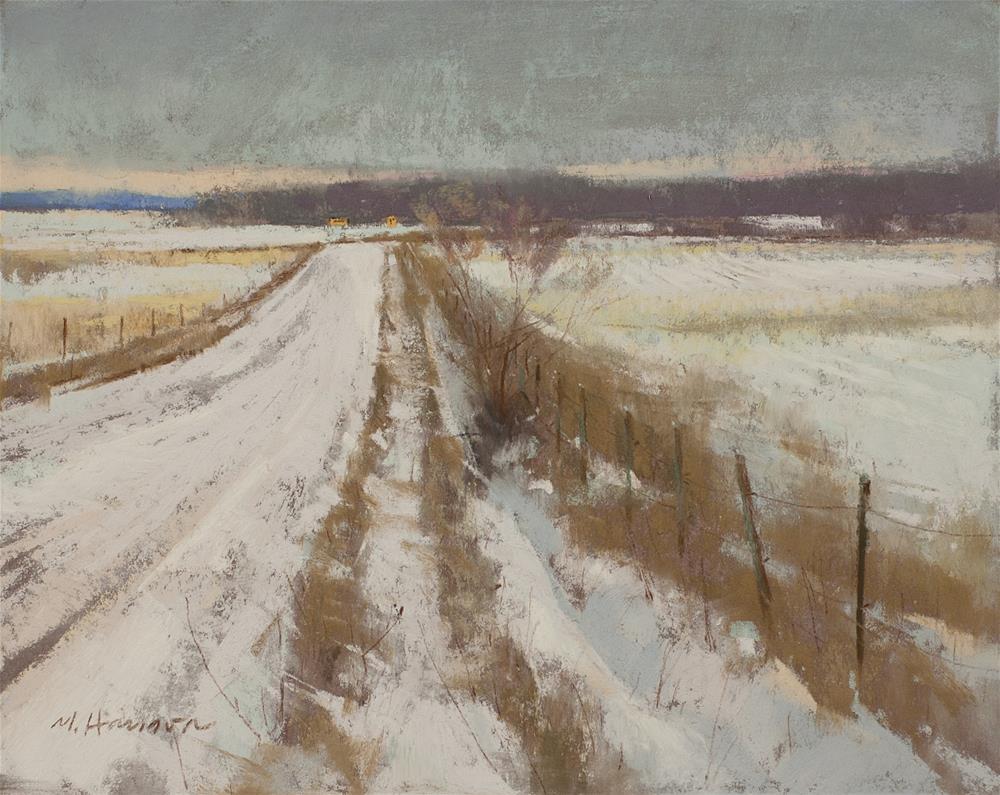 """2-12-2 Oxford Rd Winds"" original fine art by Marc Hanson"