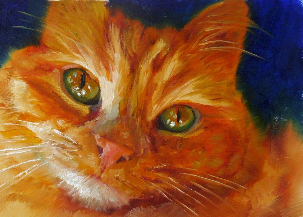 """Pretty Please"" original fine art by Sharman Owings"