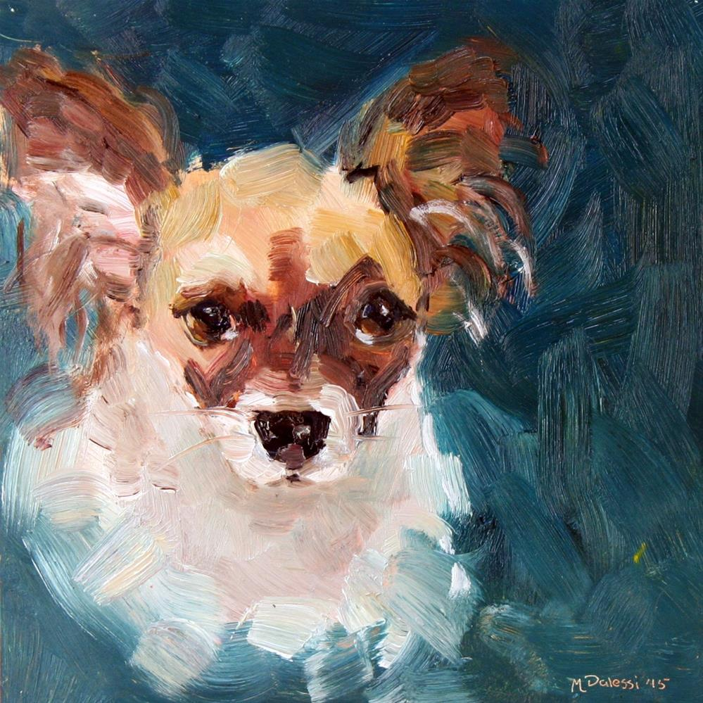 """Portrait of Nikki"" original fine art by Miranda Dalessi"