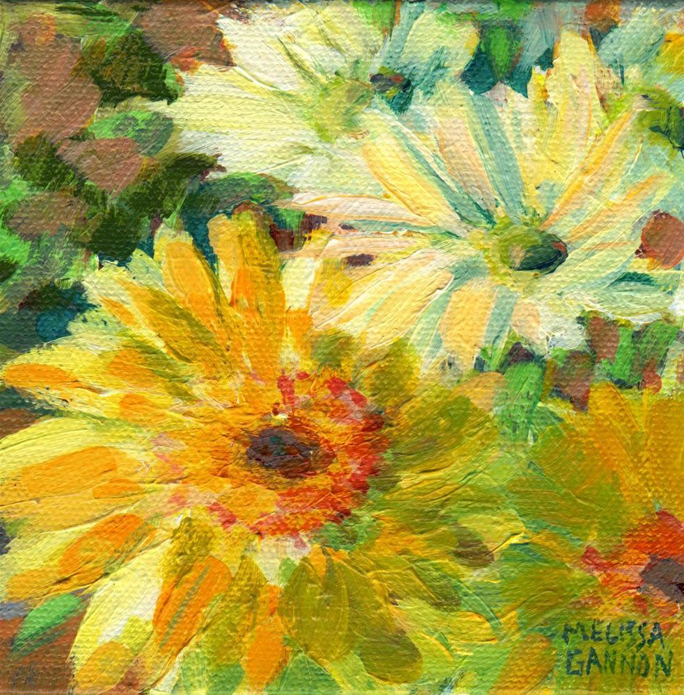 """Daisy Colors"" original fine art by Melissa Gannon"