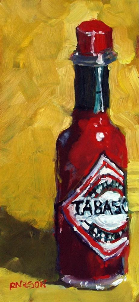 """Tabasco"" original fine art by Rick Nilson"