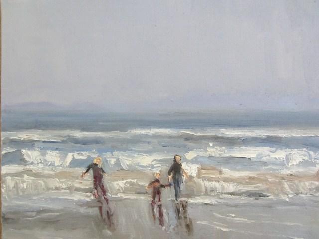 """Taking  the moment"" original fine art by Astrid Buchhammer"