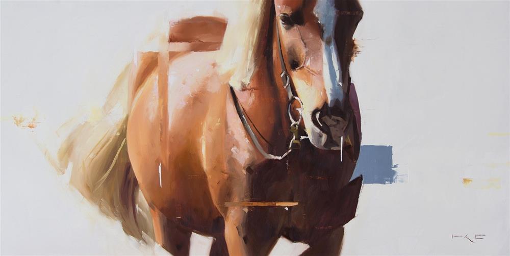 """""""Icelandic Horse 5"""" original fine art by Thorgrimur Andri Einarsson"""