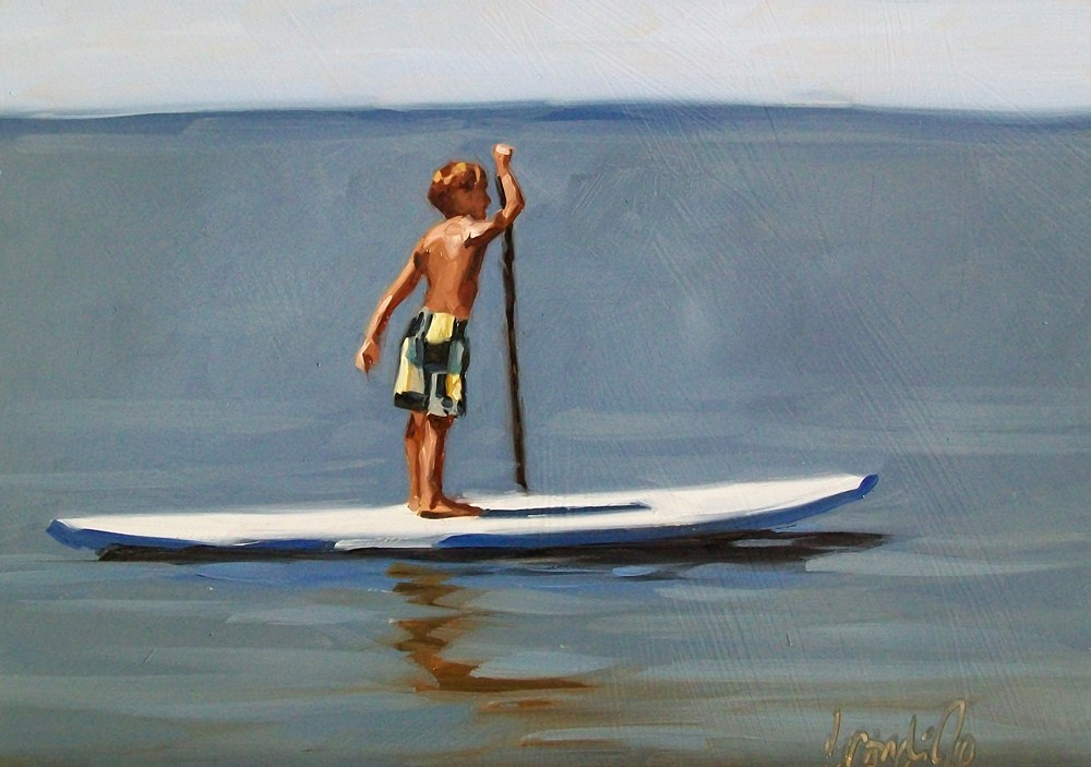 """Peaceful journey"" original fine art by Brandi Bowman"