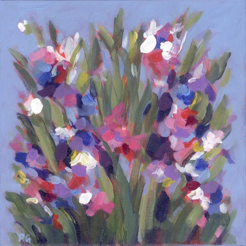 """Wildflowers for Kathy"" original fine art by Pamela Gatens"