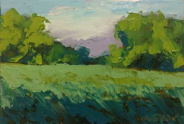 """Evening Grove"" original fine art by Mary Gilkerson"