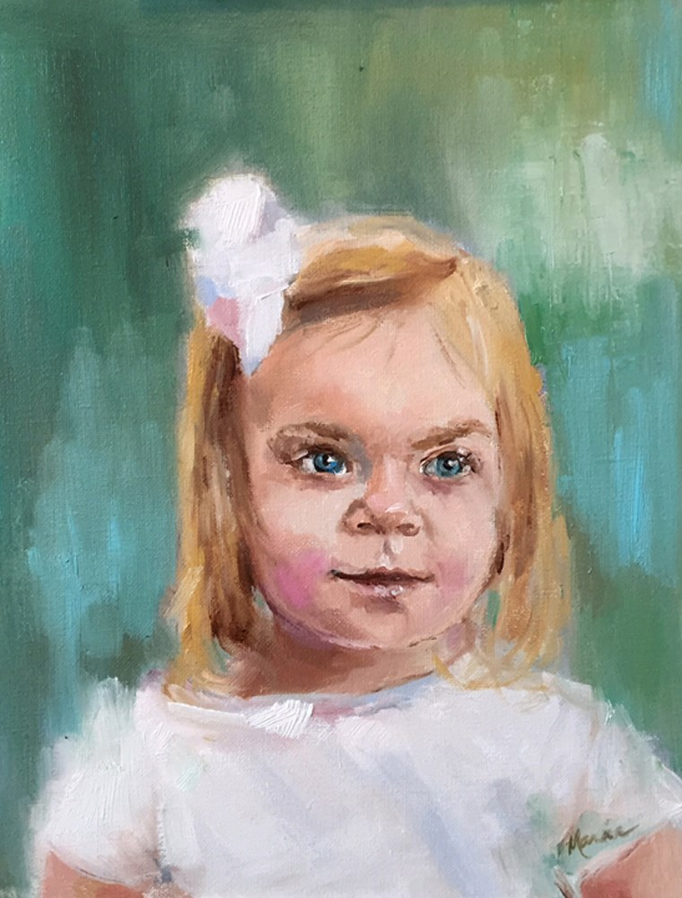 """Bailey"" original fine art by Marcia Hodges"