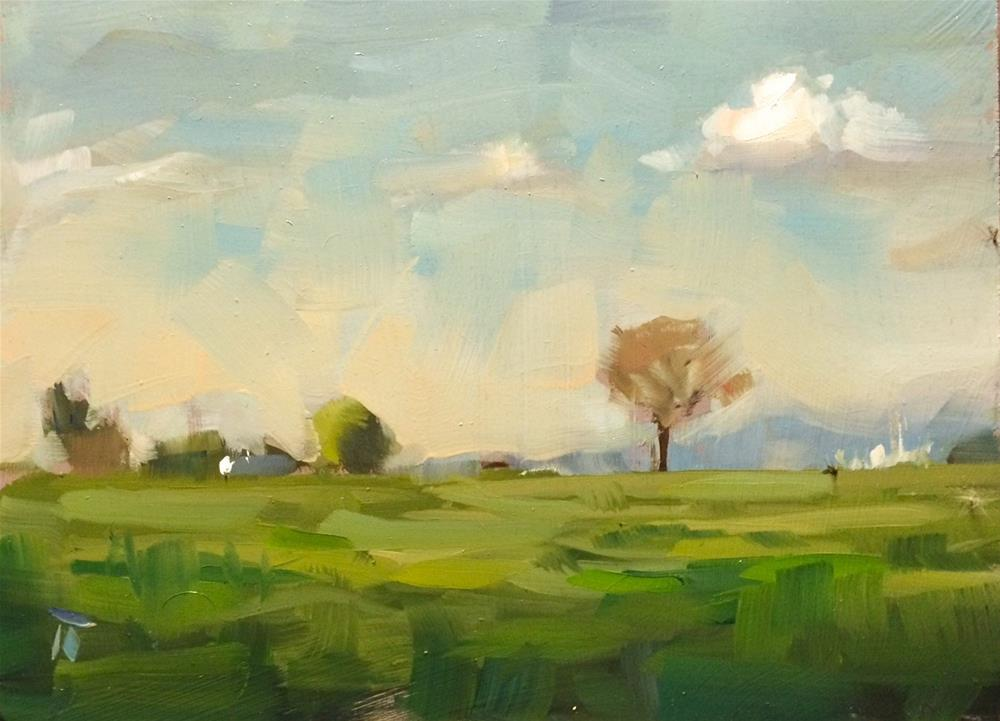 """May 6 - Pleinair Study 2"" original fine art by Thomas Ruckstuhl"