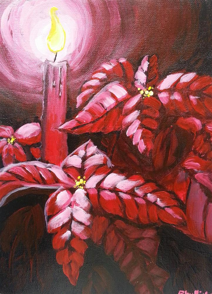 """Holy Night"" original fine art by Phyllisha Hamrick"